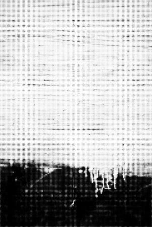 Technology textured halftone gray iron grunge  background Illustration