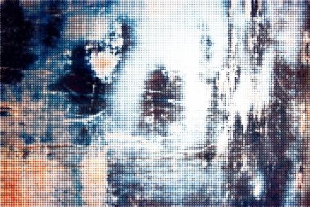 Technologie geweven raster olored ijzer grunge achtergrond
