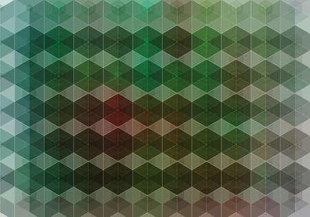 Kaleidoscope geometric pattern  Vector background Stock Vector - 21561834