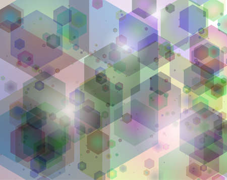 Kaleidoscope geometric pattern. Vector background. Stock Vector - 21561875