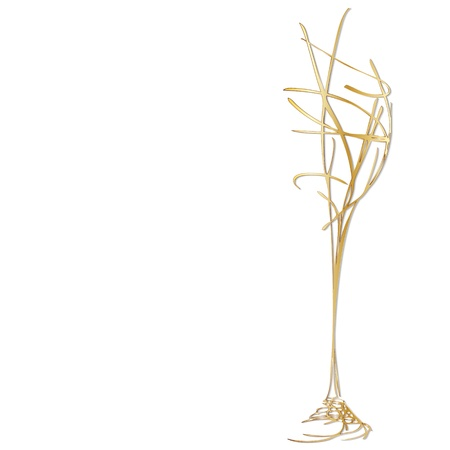 champagne flute: Celebration Champagne, The stylized wine glass for fault