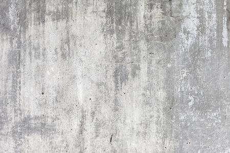 質地: 垃圾白色背景舊水泥牆的質地