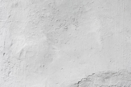 exterior wall: Grunge white background Cement old texture wall Stock Photo