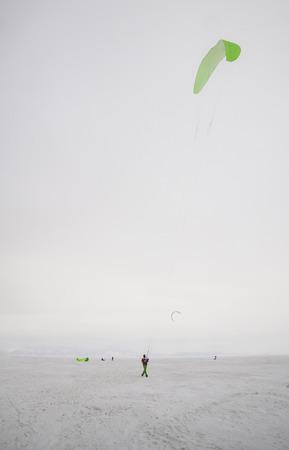 snowkiting: Tolyatti, Russia, February 5-8: All-Russian competition for snowkiting Marathon Zhigulevskoye Sea 2015 Editorial