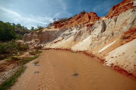 ne: The Fairy Stream Canyon in Vietnam. Mui Ne