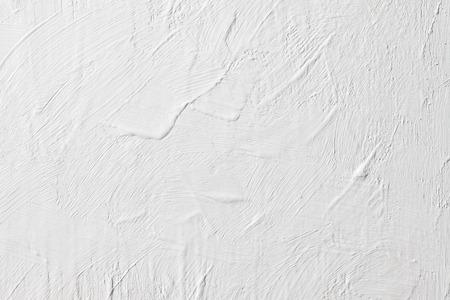 Grunge White Concrete Wall Background Standard-Bild