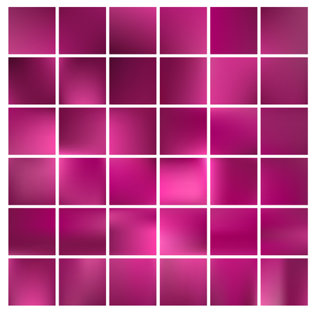 ruddy: Festive glowing a bright pink squares