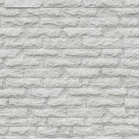 Unlimited endless seamless pattern of the white brick wall