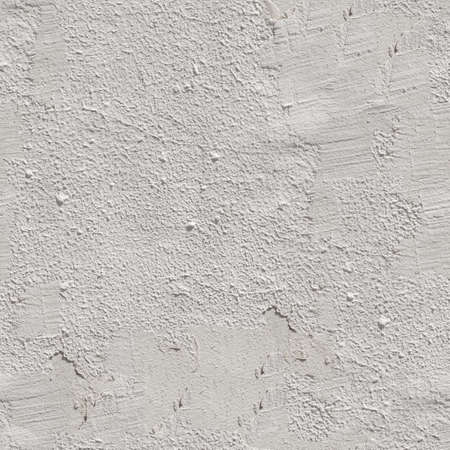 Seamless white painted concrete wall texture. 4K