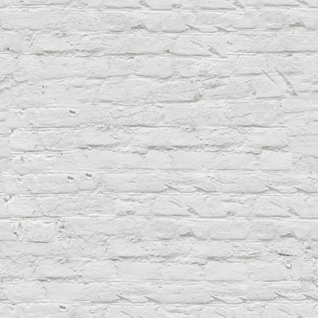 White brick wall seamless background - texture pattern for continuous replicate. See more seamless backgrounds in my portfolio. Standard-Bild
