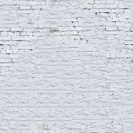 White brick wall seamless background - texture pattern for continuous replicate. Standard-Bild