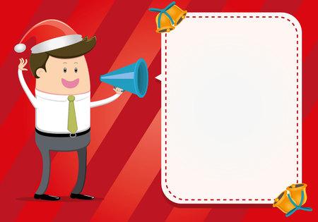 Businessman announces Christmas Deals