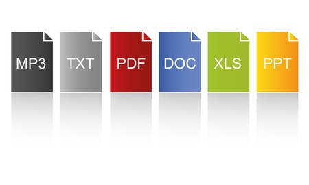 pdf: Modern Colored Documents