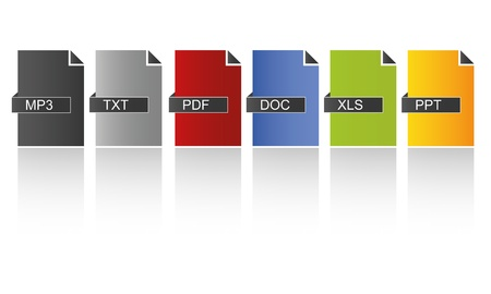 programm: Modern Colored Documents