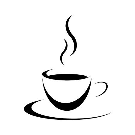 expresso: Tasse mit unterteller
