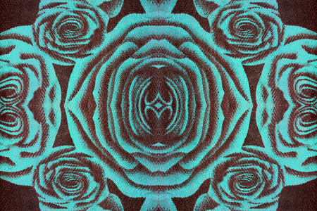 approximate: Abstract rose, seamless pattern
