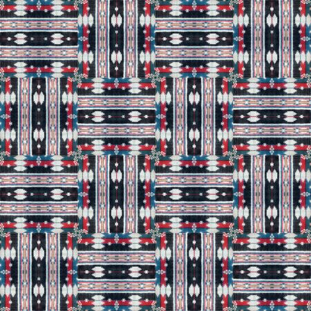 interweaving: a pattern of interweaving shapes and lines with fabric texture