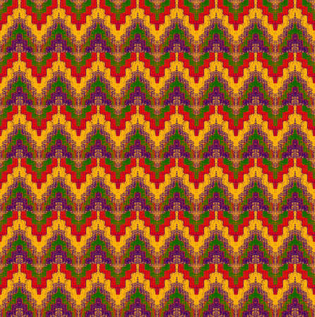 interweaving: pattern of interweaving shapes and lines with fabric texture Stock Photo