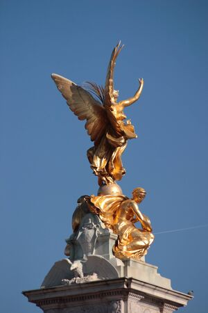 Angel - Detail of the Victoria Monument, London