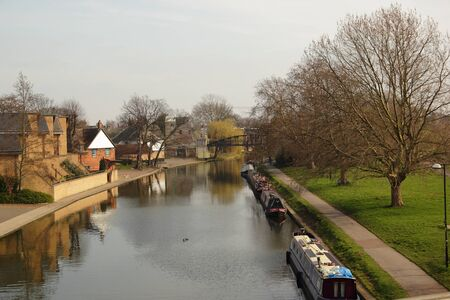 The river Cam in Cambridge, Cambridgeshire, England, United Kingdom
