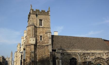cambridgeshire: Small old church in Cambridge, Cambridgeshire, England, United Kingdom Stock Photo
