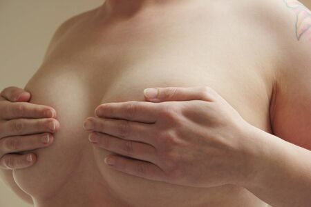 Self exam against breast cancer