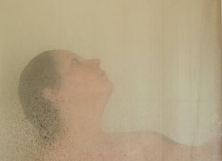 In the shower Stock Photo - 14008735