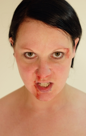 beaten woman: Fight Club
