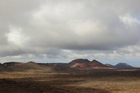 timanfaya: Volc�n vista, Parque Nacional de Timanfaya, Lanzarote