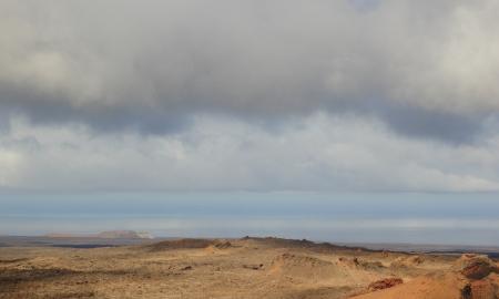 Volcano landscape, Timanfaya National Park Lanzarote