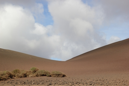 Sand dune on Lanzarote