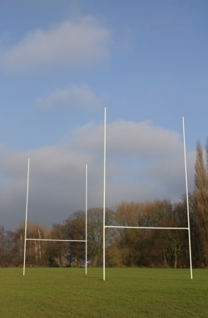 Two rugby goals