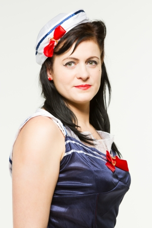 Woman in 1950's Pin Up Style Stock Photo - 18061018