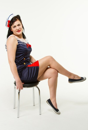 Woman in 1950´s Pin Up Style Stock Photo - 18060771