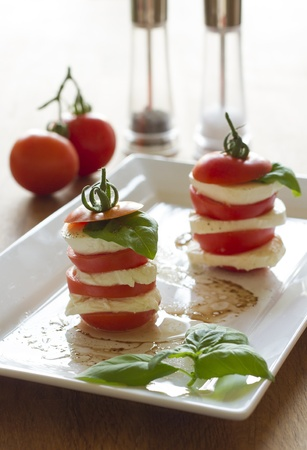 Mozzarella and Tomato photo