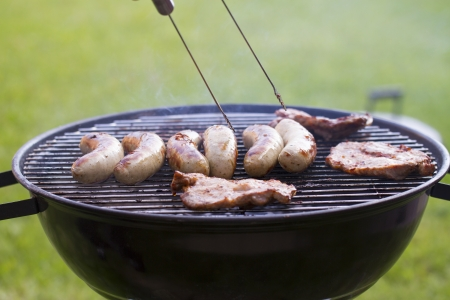 BBQ grill in the garden