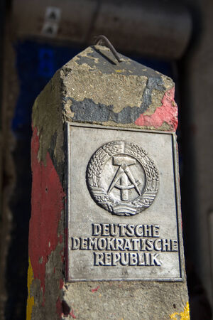 Memory for the German Democratic Republic, Berlin, Germany