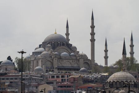 cami: Yeni Cami New Mosque Istanbul Turkey