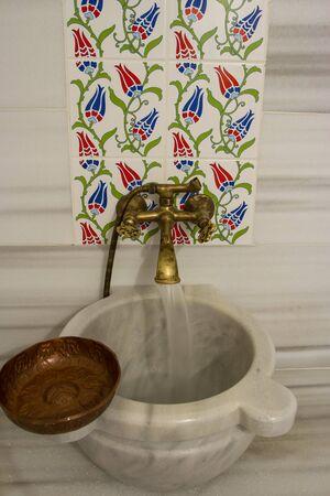 bowl sink: Bathroom in Turkey Hammam