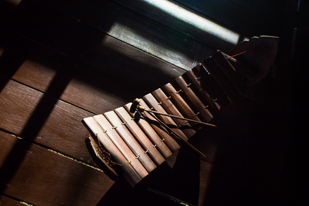 thai musical instrument: Thai musical instrument xylophone, asian instrument.