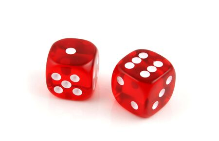 2 Dice close up- Seven Up Imagens - 824285