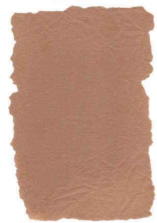hi resolution: De alta resoluci�n de imagen Grunge documento sobre un fondo blanco