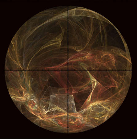 nite: Image of the nite sky looking through a telescope   Stock Photo