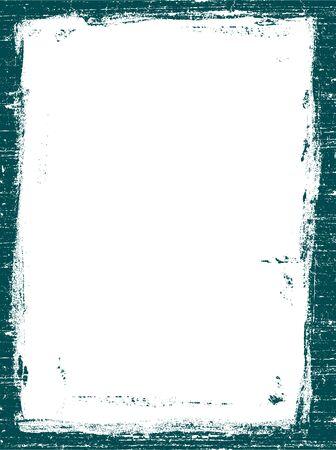 Border Grunged 4 - Très détaillée graphique vecteur de grunge.