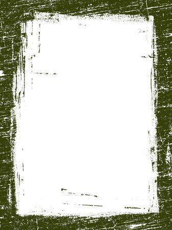 Grunged Border 10 -  Highly Detailed vector grunge graphic. Ilustração