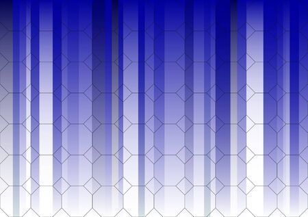 Hexagonal Blue Fading Business Graphic(Repeating graphic will tessalate for larger graphics if needed) Banco de Imagens - 39423781