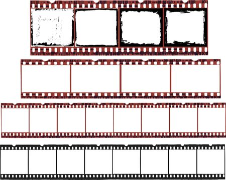 Selection of Film Cells in vector format
