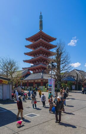 storied: Five storied pagoda Editorial