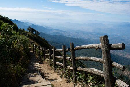 doi: Doi Inthanon, The height-est mountain in Thailand