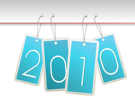 New year cards. Vector Stock Photo - 6191160